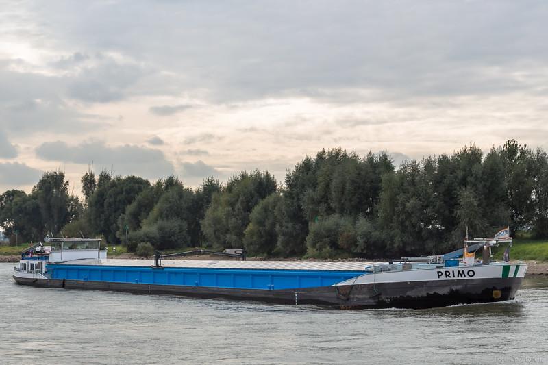 "Primo, vrachtschip 02313841 <a href=""https://www.binnenvaart.eu/onbekend/20061-irmgard.html"" target=""blank"">info</a>"