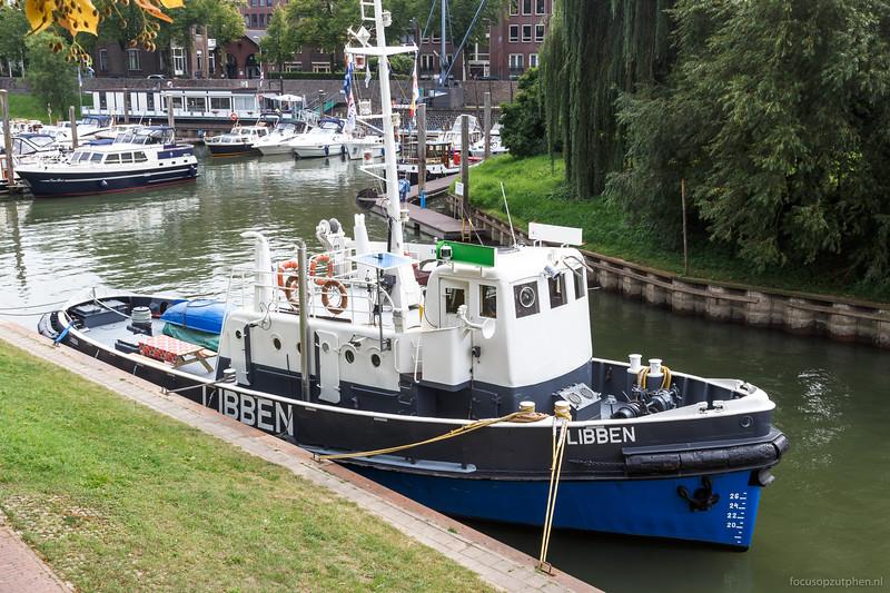"""Libben, sleepboot <a href=""""https://www.binnenvaart.eu/onbekend/42980-lippen.html"""" target=""""blank"""">info</a>"""