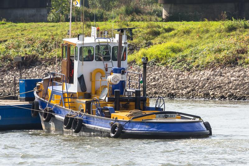 """Rijn, sleepboot 02308241 <a href=""""https://www.binnenvaart.eu/dekkruiser/38758-rijn.html"""" target=""""blank"""">info</a>"""