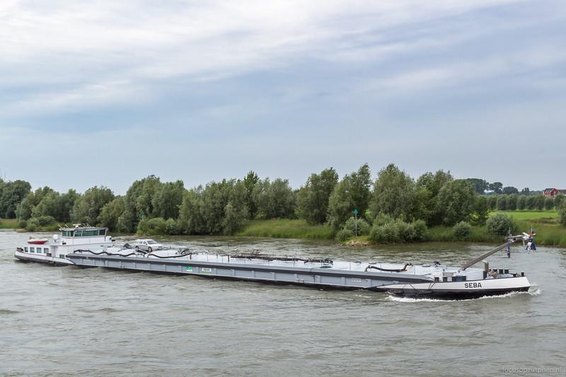"Seba, tankschip 02321471 <a href=""https://www.binnenvaart.eu/motortankschip/21871-seba.html"" target=""_blank"">info</a>"