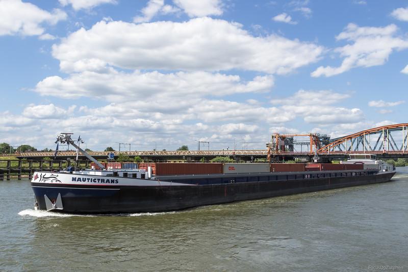 """Nautictrans, vrachtschip 02318927 <a href=""""https://www.binnenvaart.eu/motorvrachtschip/1807-iduna.html"""" target=""""_blank"""">info</a>"""