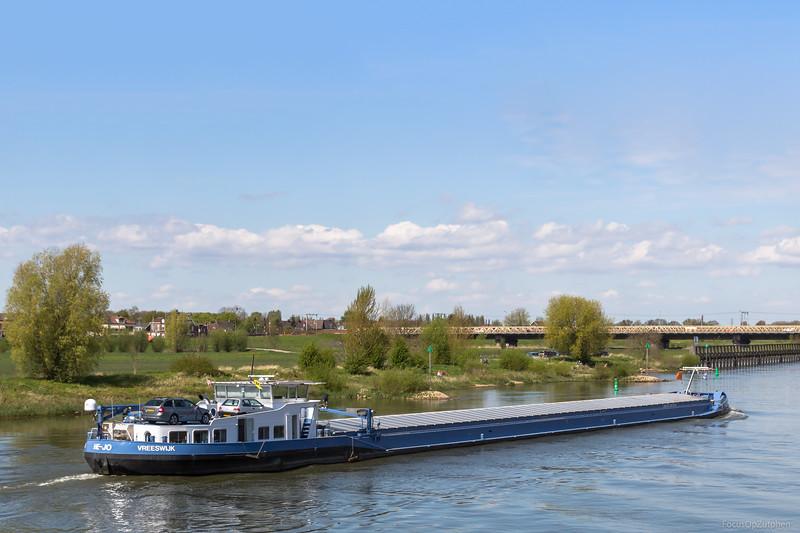 """He-Jo, vrachtschip 02320603 <a href=""""https://www.binnenvaart.eu/onbekend/16886-holger.html"""" target=""""_blank"""">info</a>"""