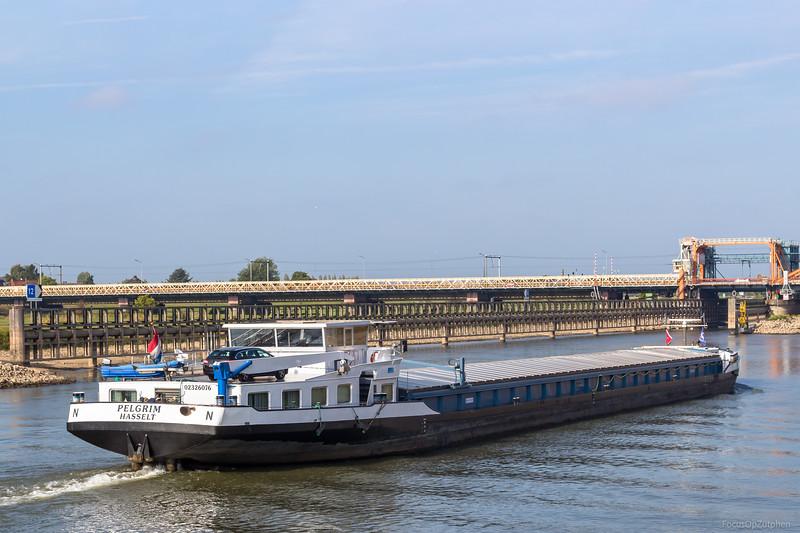 "Pelgrim, vrachtschip 02326076 <a href=""https://www.binnenvaart.eu/motorvrachtschip/1495-cofelica.html"" target=""blank"">info</a>"