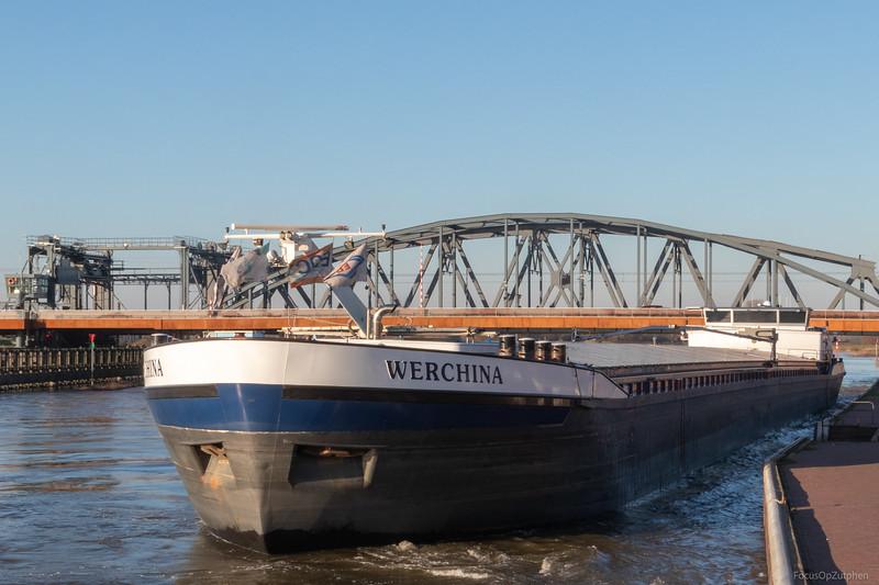 """Werchina, vrachtschip 02328970 <a href=""""https://www.binnenvaart.eu/motorvrachtschip/3242-werchina.html"""" target=""""_blank"""">info</a>"""