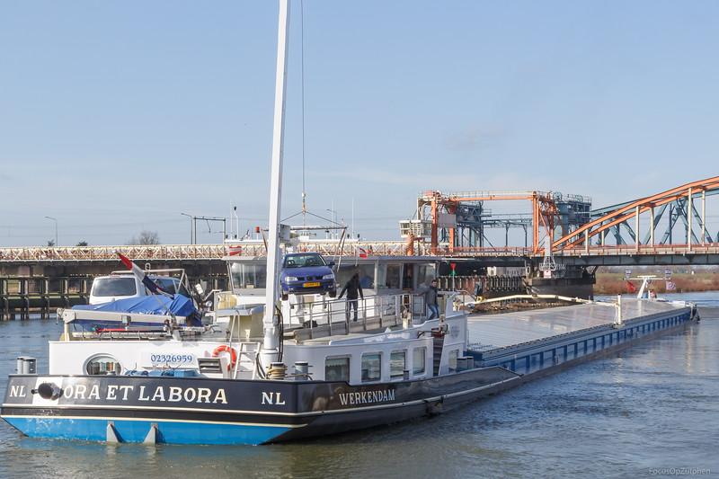 """Ora et Labora, vrachtschip 02326959 <a href=""""https://www.binnenvaart.eu/motorvrachtschip/5507-ora-et-labora.html"""" target=""""_blank"""">info</a>"""