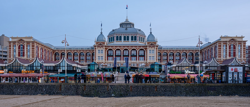 Kurhaus at dusk