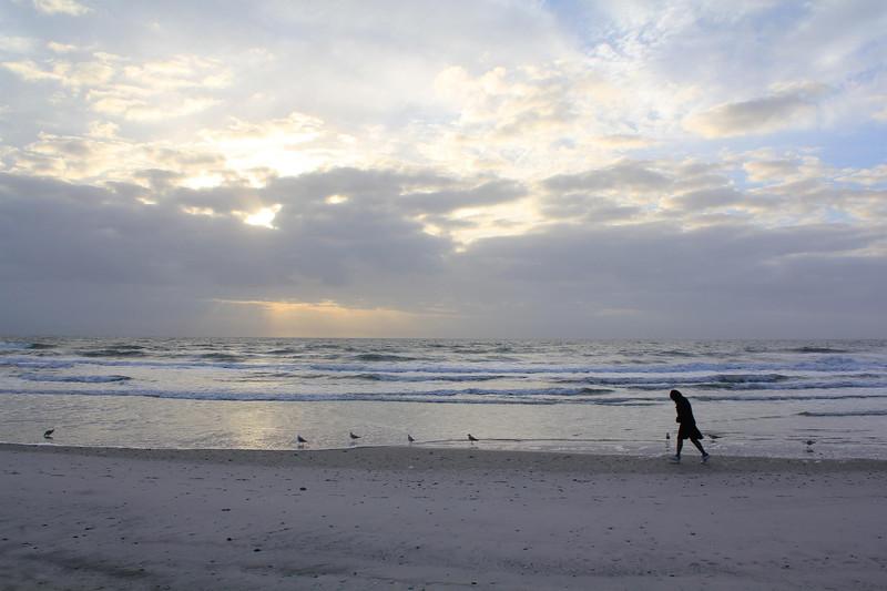 kalter Strandspaziergang, Beachwalking