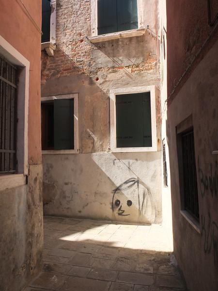 Grafiti in Venedig, Grafiti in Venice