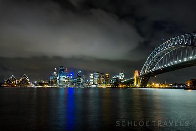 Night Sky   Sydney, Australia