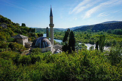 Mosque in Pocitelj | Bosnia and Herzogovina