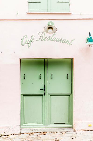 Cafe Door | Paris, France