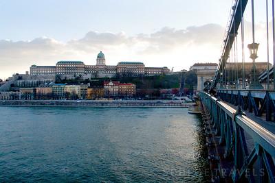 Chain Bridge to Buda Castle | Budapest, Hungary