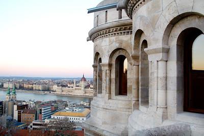 Fisherman's Bastion| Budapest, Hungary