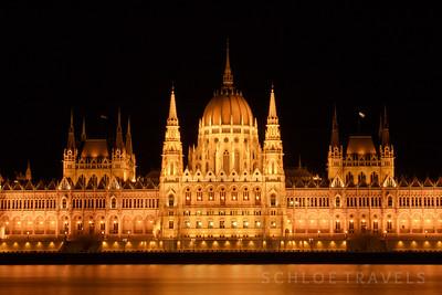 Hungarian Parliament Building | Budapest, Hungary