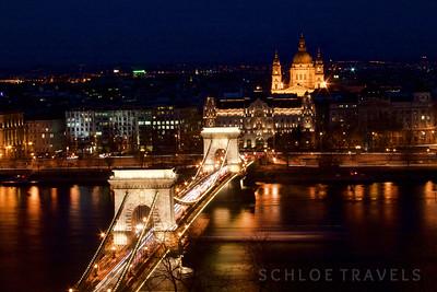 Chain Bridge| Budapest, Hungary