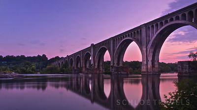 A- Line Train Bridge | Richmond, Virginia
