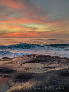 Windansea Sunset | San Diego, California
