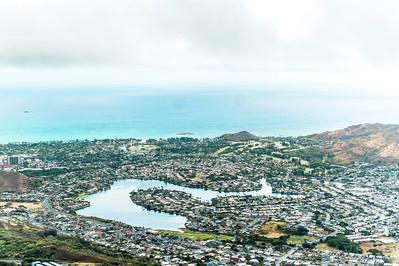 Olomana Three Peaks Trail View | Oahu, Hawaii