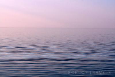 Calm Sunset Water | Pictured Rocks National Lakeshore, Michigan