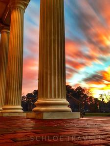 Sunset Columns | Newport News, Virginia