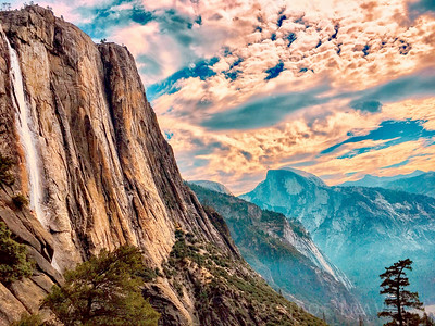 Yosemite Falls| Yosemite National Park, California