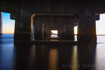 Sidney Lanier Bridge at Sunset | Georgia