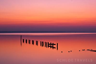 James River Sunset | Newport News, Virginia