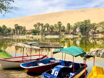 Huachachina Boats | Huacachina Peru