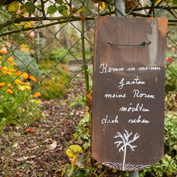 Jardin à Durbach