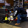Schmuckey packing for the Winter 2014 Lava Beds trip