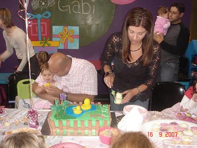 Gabi's first bithday party