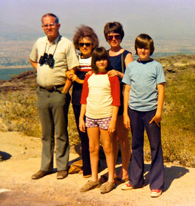 Rick and Ann with Paulette and her parents, in Arizona