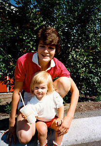 Ann with Kristen 1984