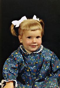 Ann, kindergarten picture
