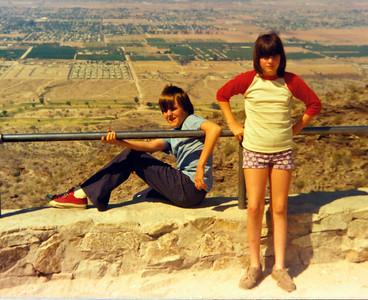 Rick and Ann in Arizona, 1977 (?)