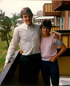 Ann and Rick, graduation from WSU, 1984