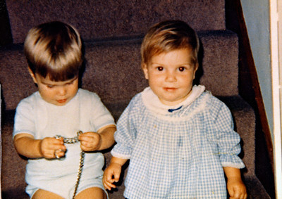 Ann with cousin John
