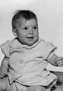 Ann's baby picture (she was born July 24th, 1964)
