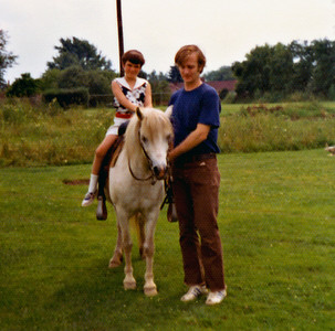 Ann and Dad, 1972