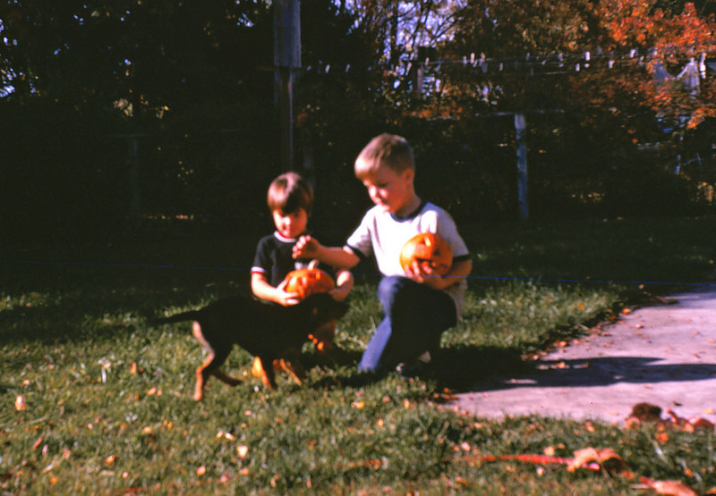 Ann, Rick and Boney, 1969 (?)