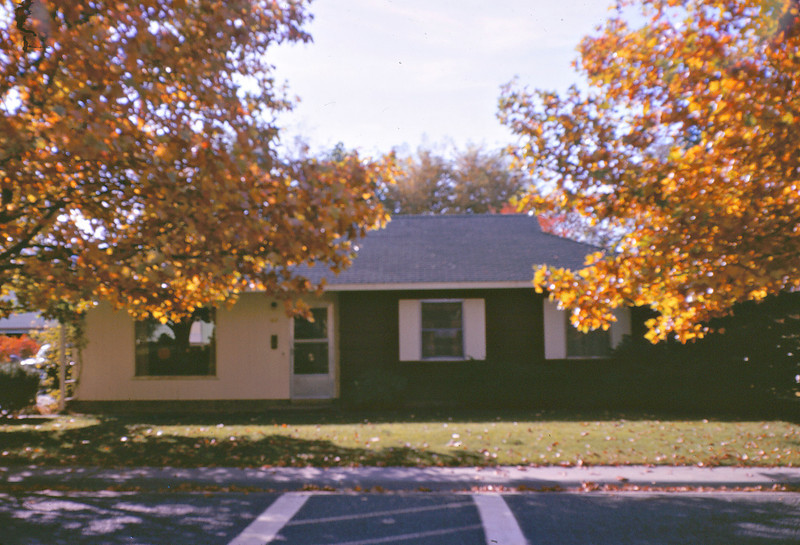 our house on Cottonwood in Richland, 1969 (?)