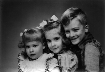The Schneider kids: Carole, Marianne and Dick (my father)