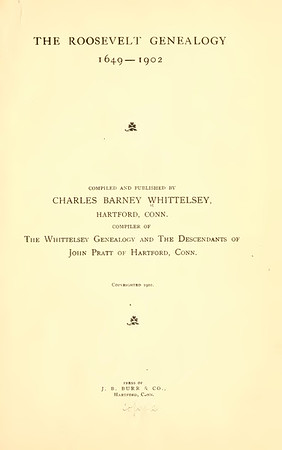 1796 Cornelia Roosevelt m Benjamin Kissam
