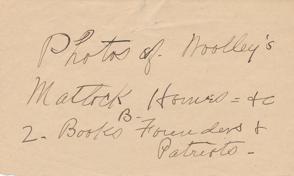 1932 Kissam Assorted MWK Notes