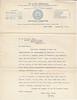 1912 Henry S Kissam letter to Albert re  genealogy orgs