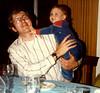1980 John & Johnny Williams poking dad