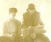 1965 Von & Scott with stabbed teddy bear yellow