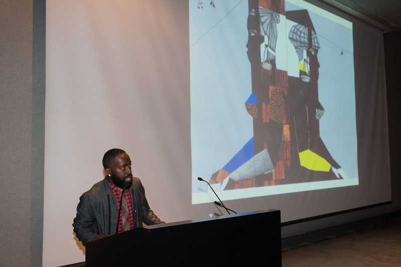 New York-based artist, Derrick Adams.