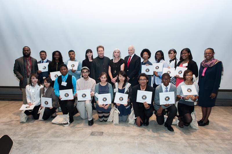 Pratt Young Scholars Inaugural Class 2013-2014.