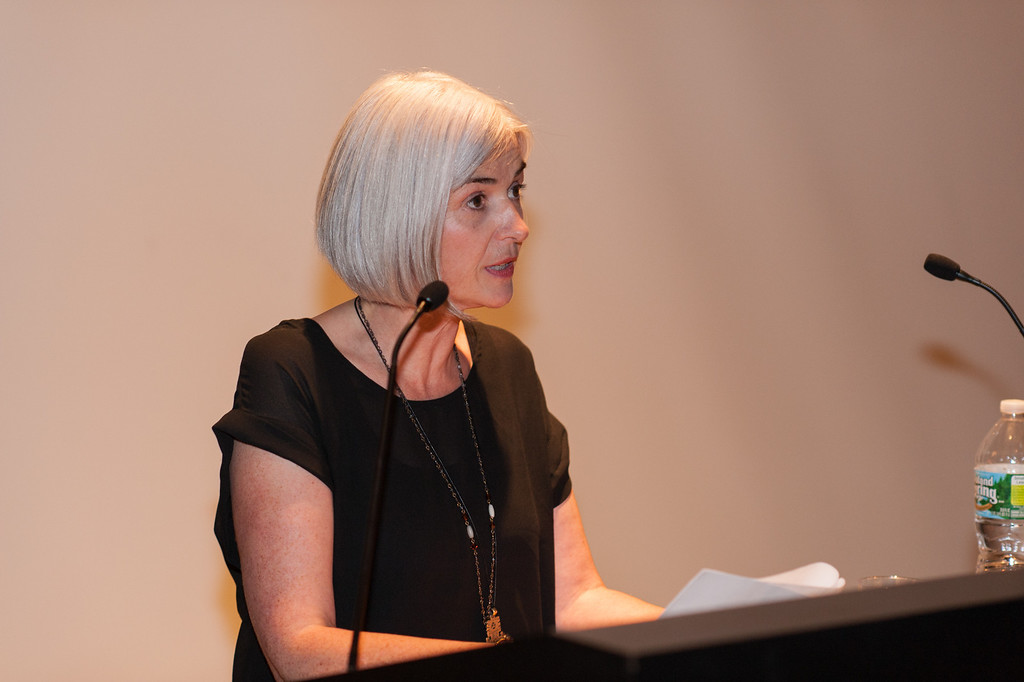 Acting Chair of the Art and Design Education Department at Pratt Institute, Aileen Wilson.